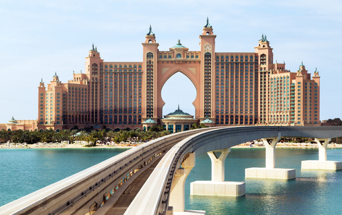Atlantis the Palm hotel in Dubai,