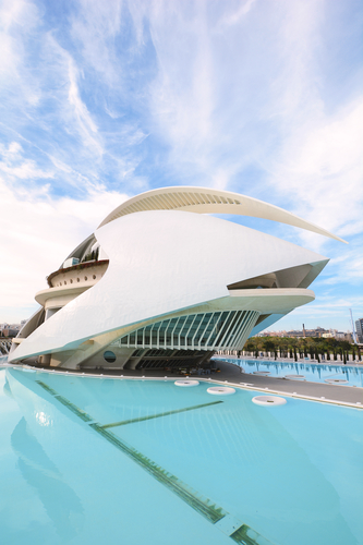 City of the Arts and Sciences, Valencia.